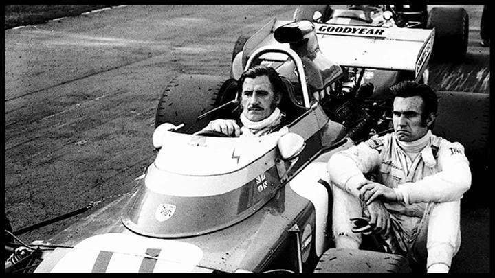 Graham Hill y Tony Brise de la Fórmula Uno (Fuente: Auto Corsa 2000)